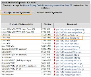 Descarga Oracle JDK