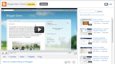 Blogger YouTube kanal, novi video materijali