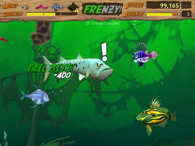 Nature picture selection games fish for Free online fishing games