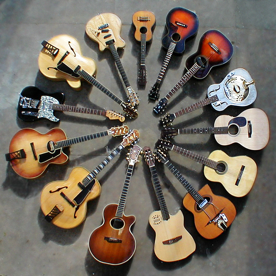 the history of the guitar Acoustic guitars are one of the most famous instruments around the world the history of the acoustic guitar dates back thousands of years, and the acoustic guitar's history can be described as rich as colorful in the beginning it is believed that the acoustic guitar developed from ancient stringed instruments,.