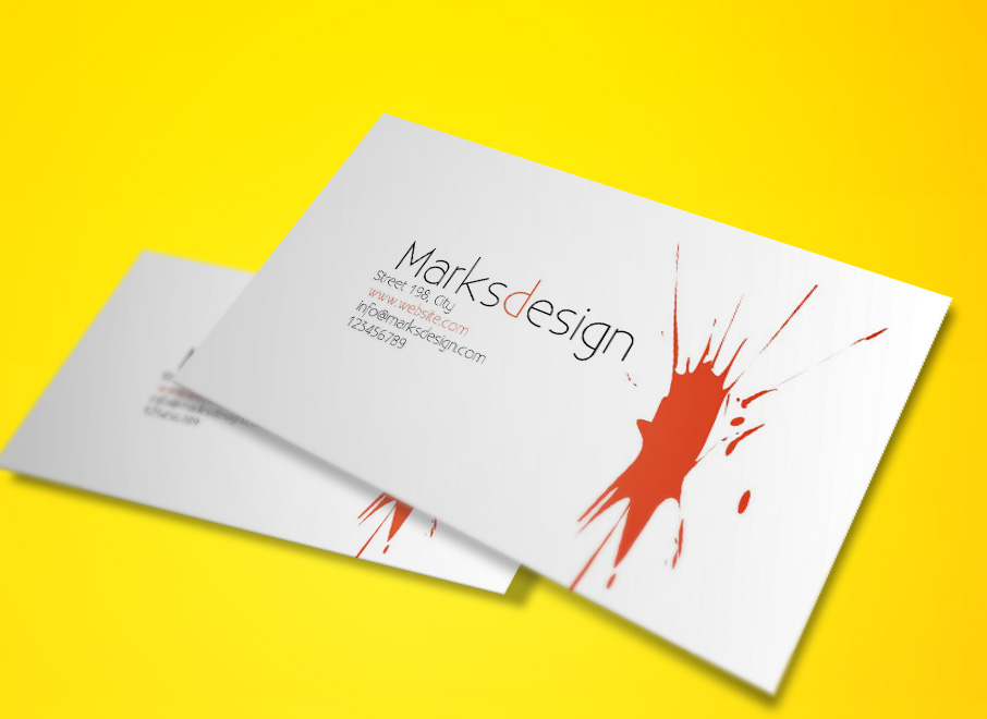 Free Painter Business Cards Template Free Business Card Templates - Painter business card template