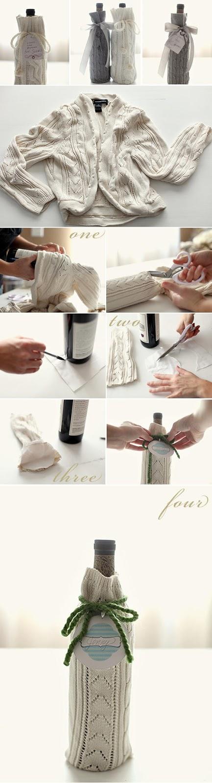 30 ideas para reciclar un viejo sueter
