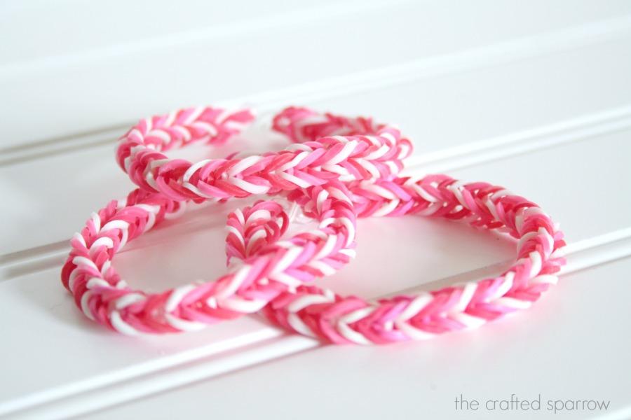 Rubber band bracelet loom kit