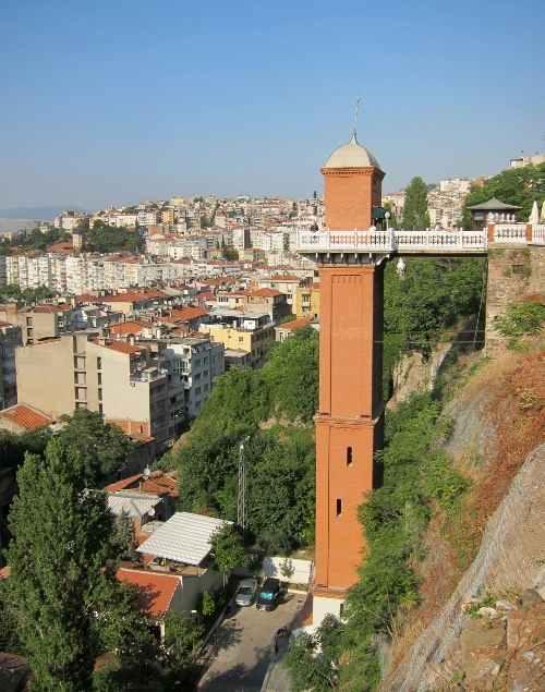 Asansor, Turki