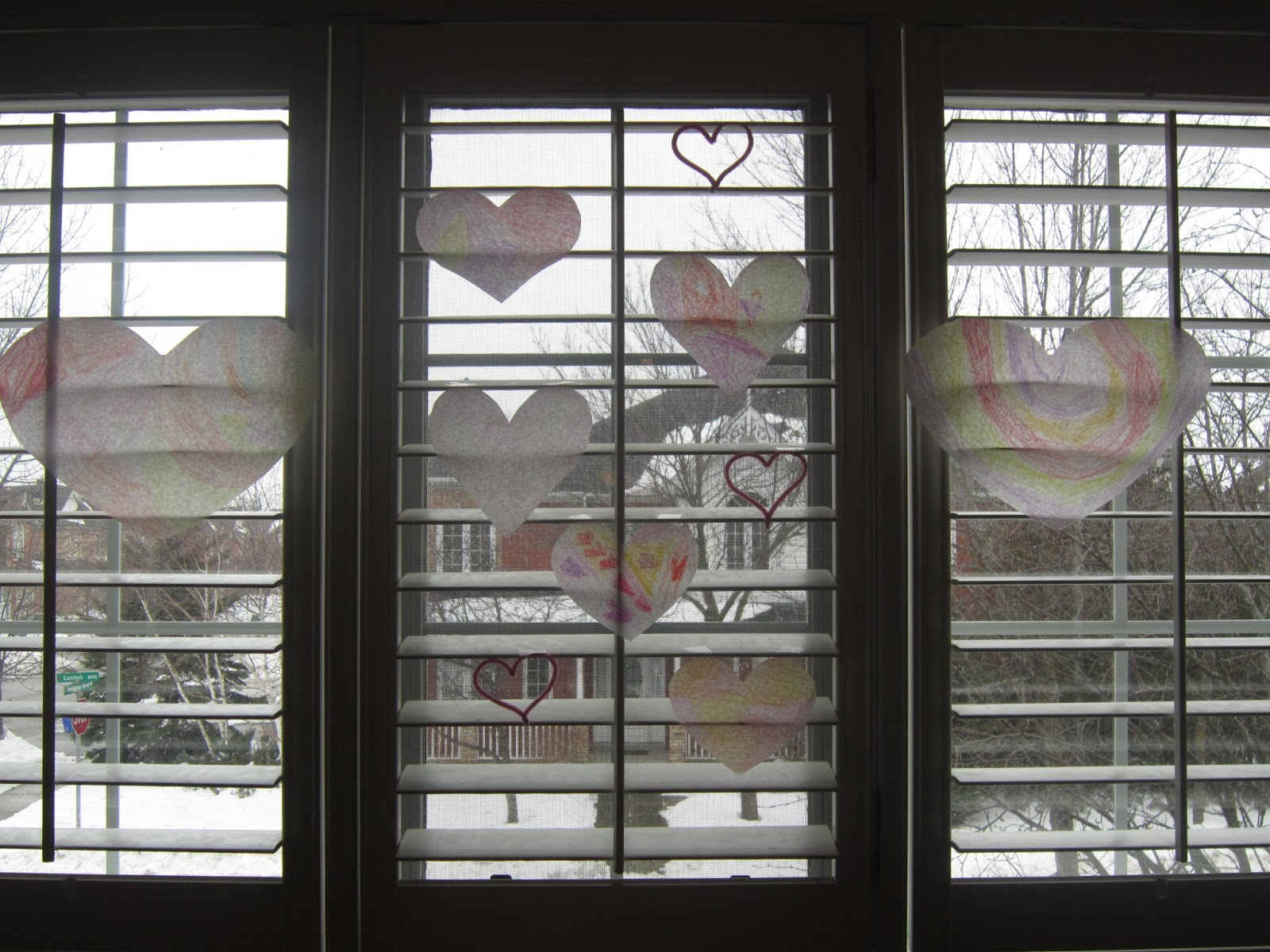 Valentines decor, crafts, kids crafts, hearts