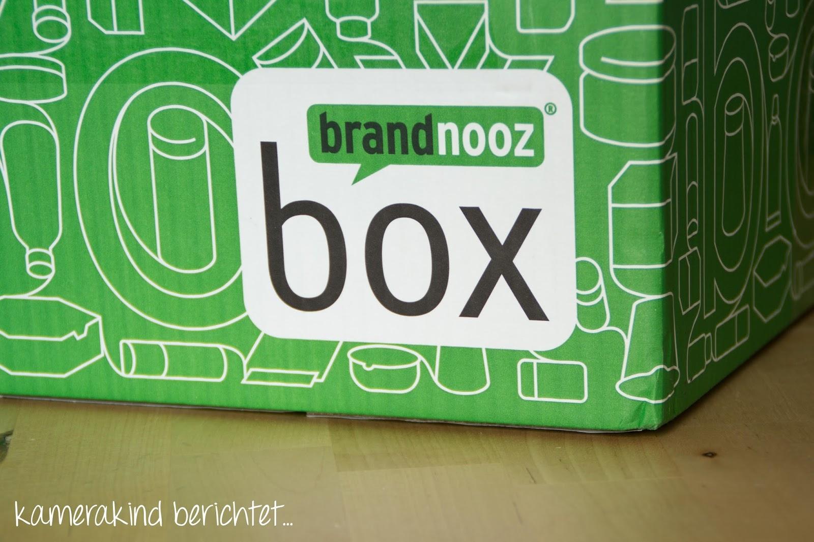 Lebensmittelkiste Brandnooz Box Februar 2015 ausgepackt