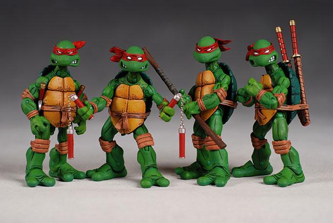 Teenage Mutant Ninja Turtles Toys : Neko random fact of the day ninja turtles were red