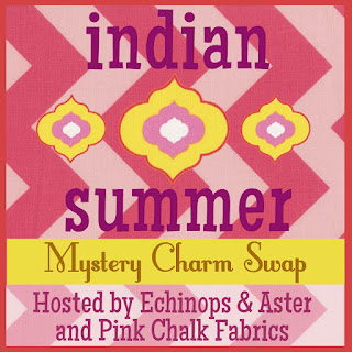 Indian Summer Charm Swap