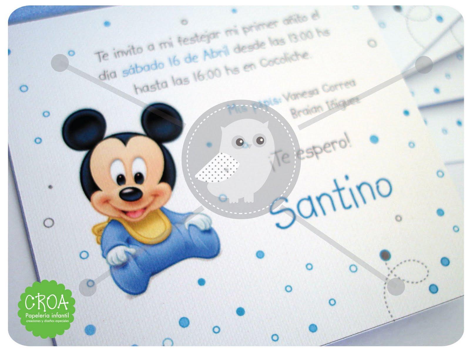 Primer Añito - Disney Baby