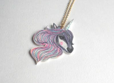 Jewellery by Jaymie unicorn necklace