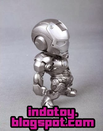 Jual Action Figure Ironman Tideway Mark III Silver