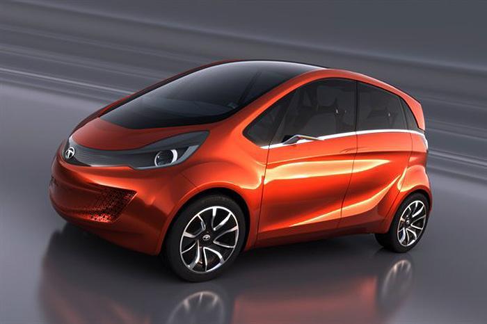 Sport car garage tata megapixel future city car concept for Tata motors future cars