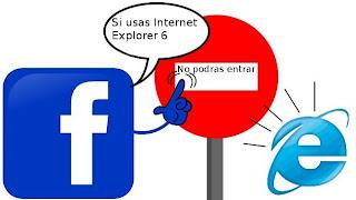 Usar Internet Explorer 6 en la web del 2012-15 sera cada vez mas peligroso.
