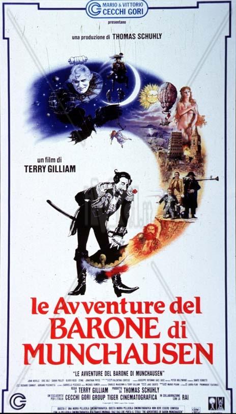 le-avventure-del-barone-di-munchausen dans Films series - News de tournage