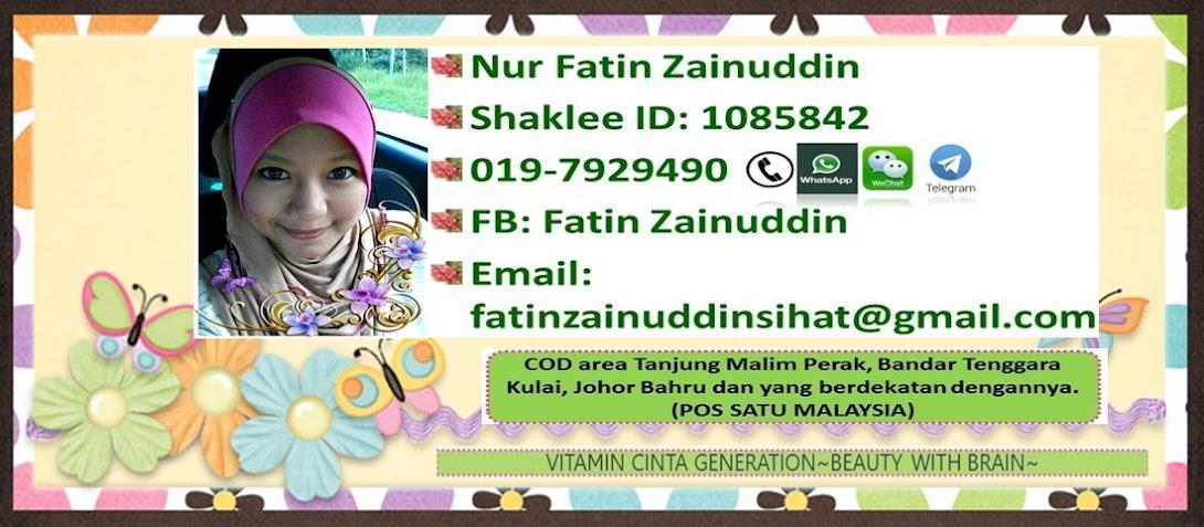 Pengedar Sah Shaklee UPSI, Tanjung Malim. Bandar Tenggara, Kulaijaya.