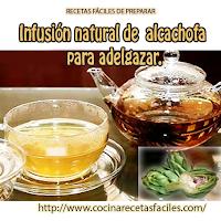 alcachofa, agua
