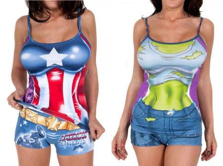 Super pijamas para mujeres