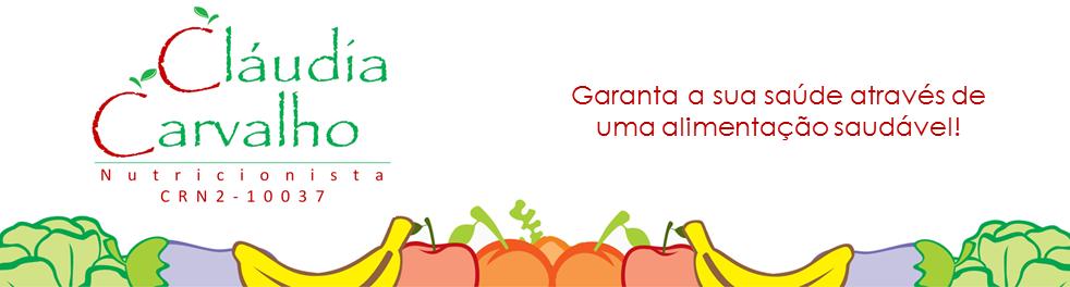 Nutricionista Cláudia Carvalho