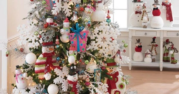 raz christmas at shelley b home and holiday how to decorate a snowman themed christmas tree. Black Bedroom Furniture Sets. Home Design Ideas