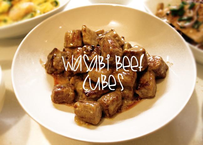 WASABI BEEF CUBES ~ Foodtastic Angelina # Wasbak Zeef_202434