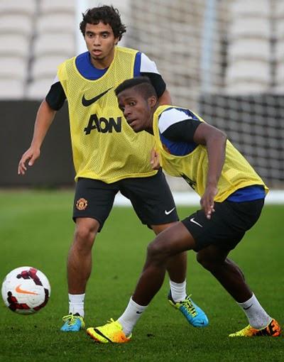 Fabio and Zaha Manchester United Transfer Cardiff City 2014