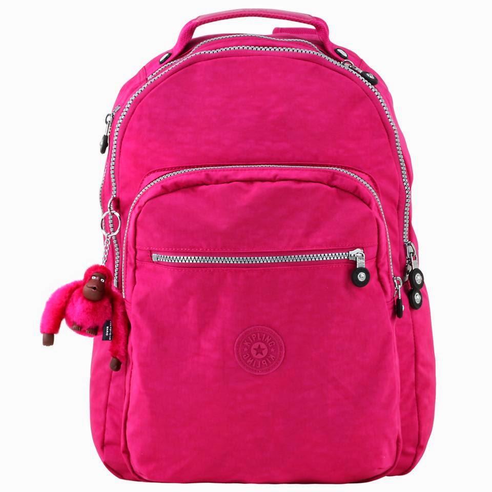 Bolsa De Mão Da Kipling : Cantinho da mari bolsas escolares e mochilas kipling