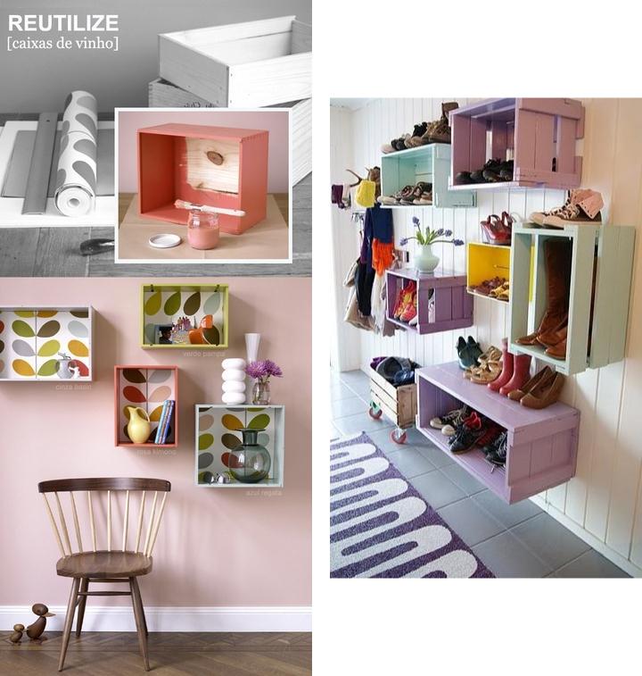 Cassette di frutta in legno idee per il design della casa for Idee sul retro veranda per le case