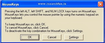 How to Control Mouse Pointer with Keyboard Image