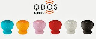 Enceinte Bluetooth QDOS Q-BOPZ fun et pas chère