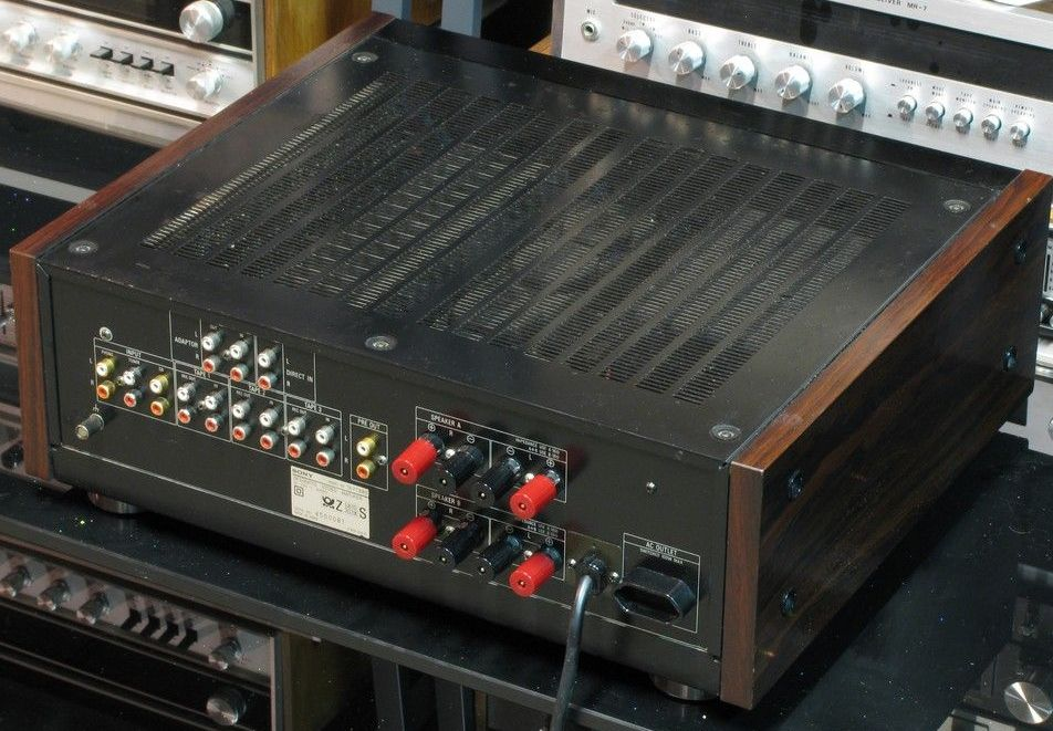 Sony Ta F730es Integrated Amplifier Audiobaza