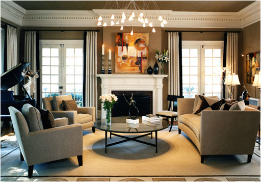 Romantic Style Living Room Design Ideas | Room Design Inspirations