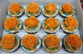 Cupcakes Hantaran Buttercream