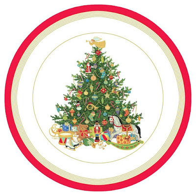 Oh Christmas Tree Paper Plates by Caspari on Amazon  sc 1 st  31 Days of Christmas Parties & 31 Days of Christmas Parties: November 29 2015