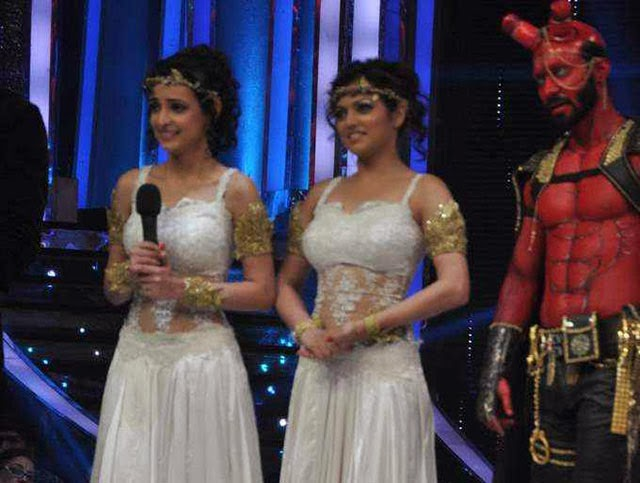 Sanaya Irani & Drashti Dhami Sets The Stage of Jhalak Dikhla Ja On Fire With Salman