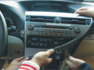 install Lexus RX350 stereo