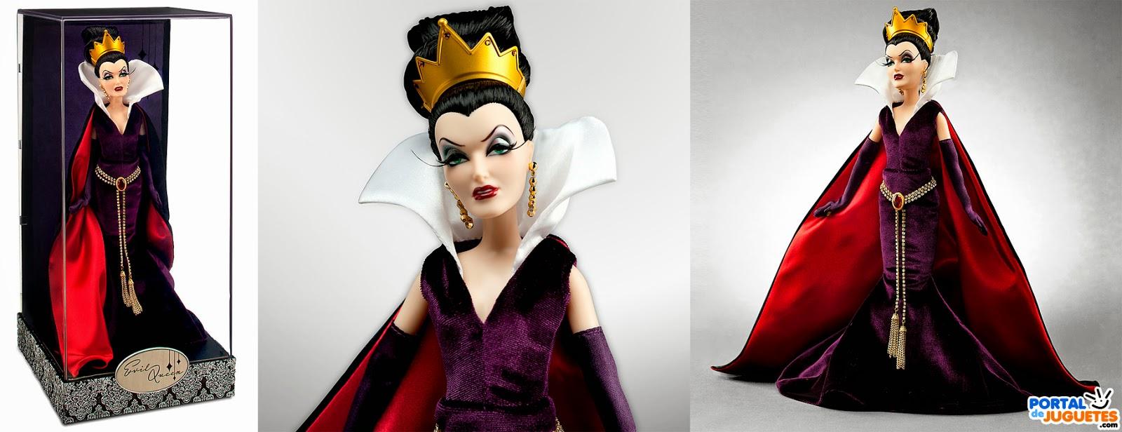muñeca reina malvada villanas disney