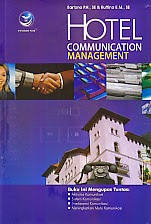 toko buku rahma: buku HOTEL COMMUNICATION MANAGEMEN, pengarang bartono, penerbit andi