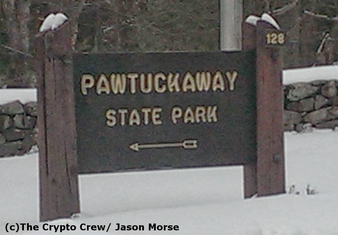 Bigfoot in Pawtuckaway