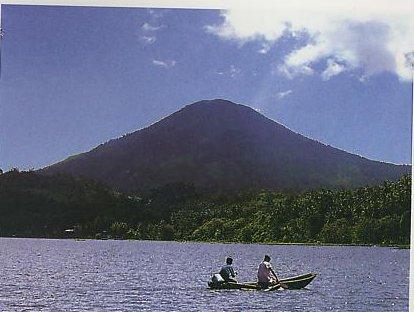 rajabasa mountain
