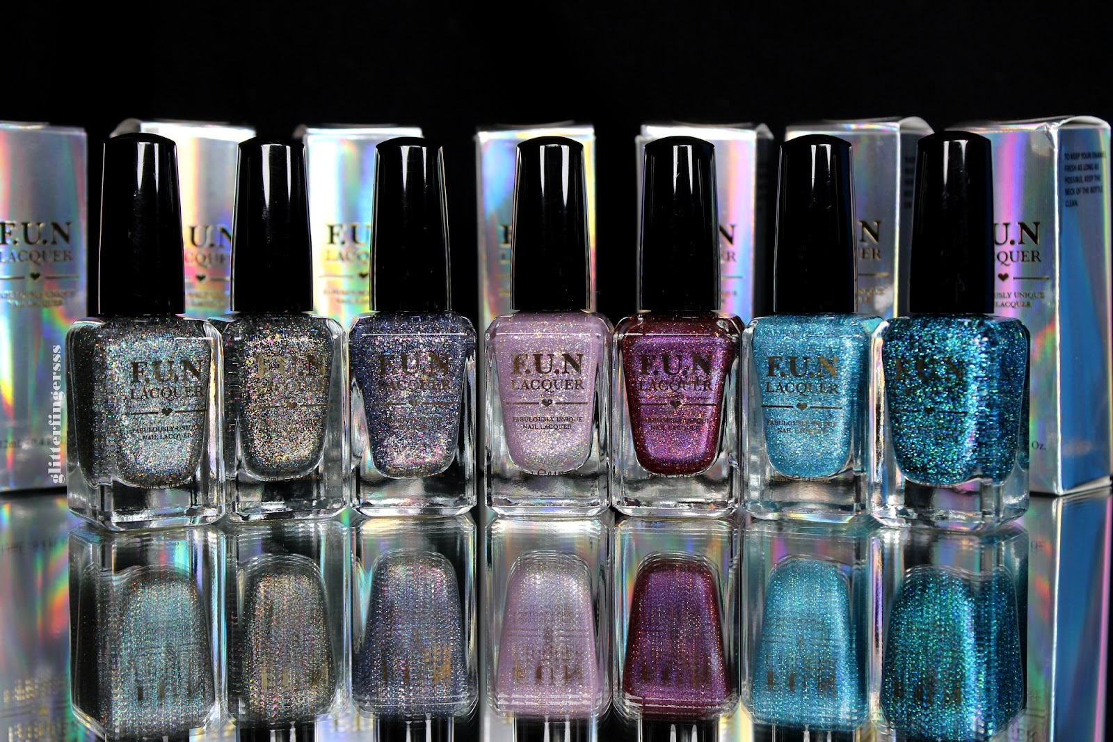 F.U.N. Lacquer 2015 Limited Edition Collection ~ Glitterfingersss in ...