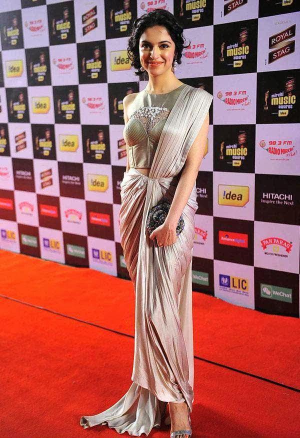 Divya Khosla at Mirchi Music Awards 2014