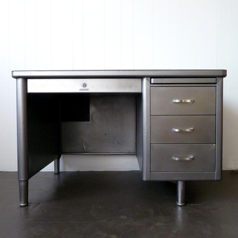 vintage steel furniture. VINTAGE INDUSTRIAL TANKER DESK Vintage Steel Furniture