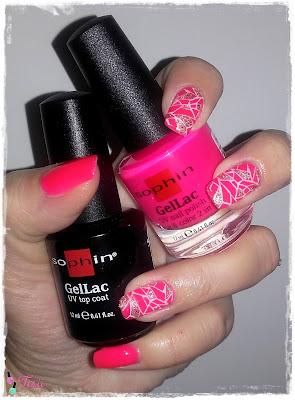 Czas na GelLac Od Sophin Neon Pink 641, Manicure Jak z Salonu Bez Użycia Lampy UV