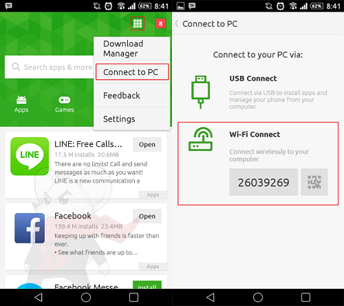 Cara Transfer Data Android Tanpa Kabel Data