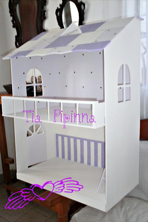 Casa de muñecas de 2 pisos