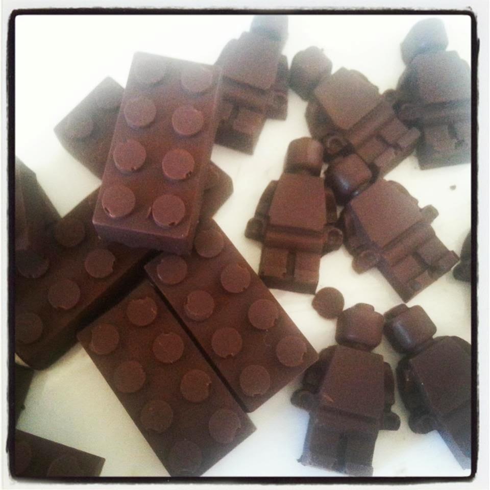 Lego Chocolate