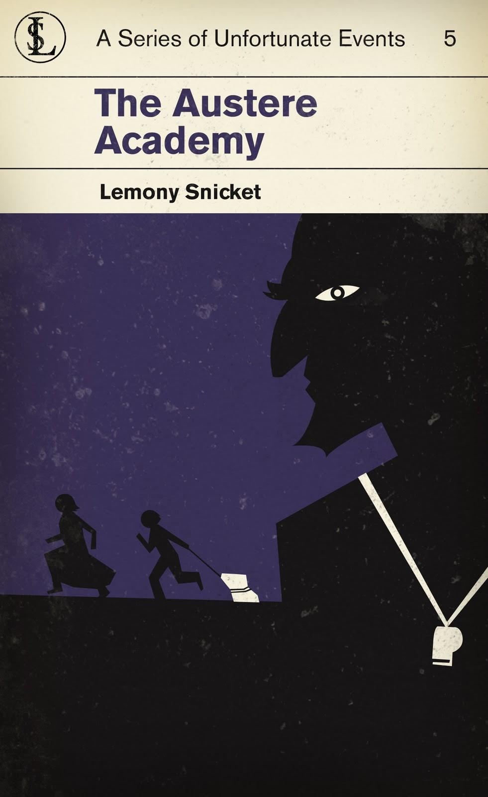Lemony Snicket Redesign