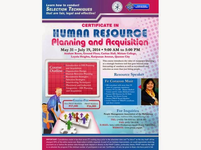 Principles How to Conduct Human Resource And Manpower Planning 1