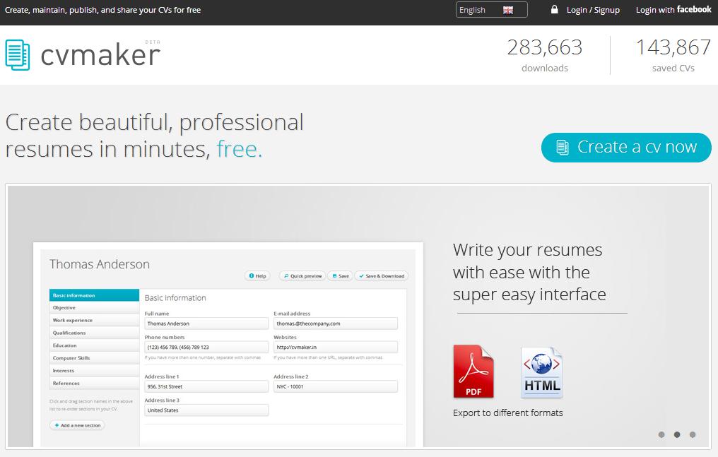 best free resume builder website 2013 28 images