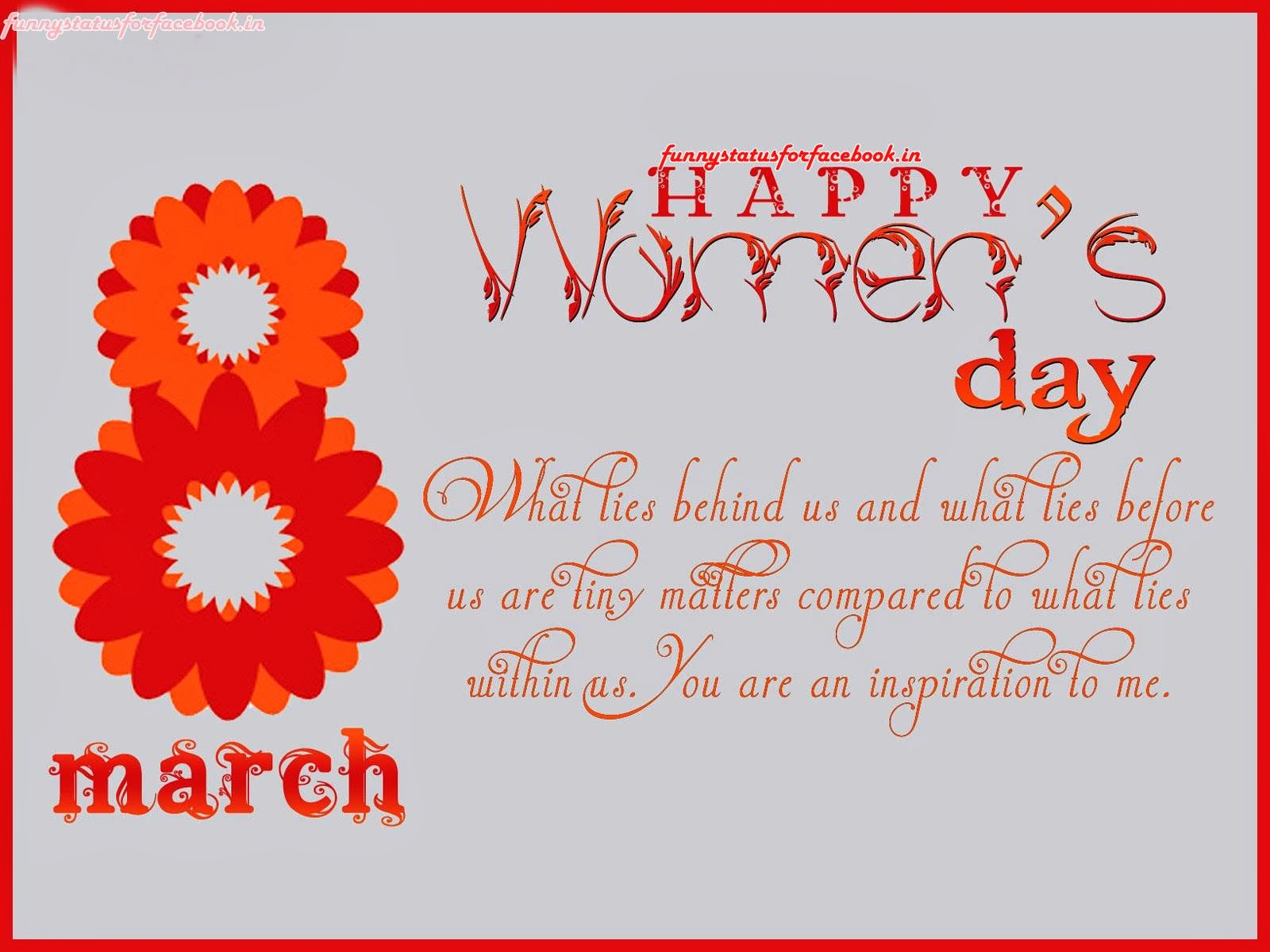 Happy International Women's Day Wishes and Greetings Message SMS Card Photo